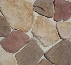 Stone Master 174 River Stone Veneer Siding 10 76 Sq Ft At