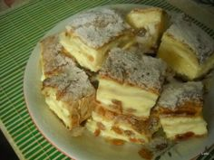 New Fruit Dishes For Parties Cooking Ideas Romanian Desserts, Romanian Food, Just Desserts, Delicious Desserts, Russian Cakes, Vegan Sugar, Fruit Dishes, Potato Cakes, Appetizers For Party