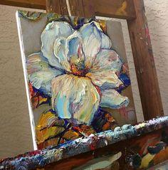 Oil Painting Original Magnolia Nizamas Ready to SHIP by Artcoast #OilPaintingInspiration