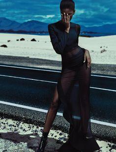Numéro #169 December/January 2015-2016 Model: Amilna Estevão Photographer: Txema Yeste Fashion Editor: Elizabeth Sulcer