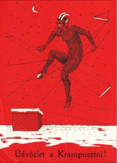 Krampus Holiday Cards PRE-ORDER | The Morbid Anatomy Museum Gift Shop