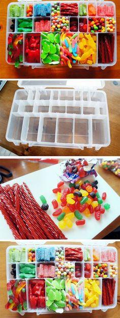 Süßigkeitenbox: Ideal als Geschenk, zum Picknicken und einfach so!