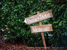 Eves on the River Wedding – Paula & Jamie – Brisbane Wedding Photographer, Wedding signs, Christopher Thomas Photography