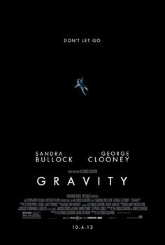Gravity (2013, dir. Alfonso Cuaron) - cinematography = good. script & casting = bad. A thrill, altogether, but still some cringeworthy elements, unfortunately.
