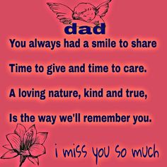 DAD I Miss You So Much ❤️