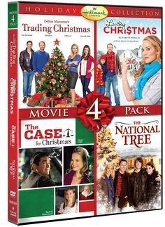 Amazon.com: Hallmark Holiday Collection Movie 4 Pack (Trading Christmas, Lucky Christmas, Case For Christmas, National Tree) (Hallmark): Various: Movies & TV