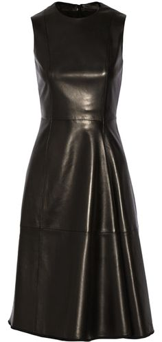 """The Row Leather Dress. The The Row Leather Dress was voted a """"Top 10 Favorite"""" by Tradesy Members. Get it now and save 56%"""