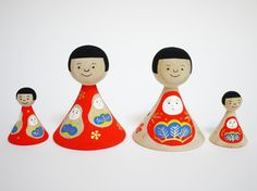 金沢その1/金沢加賀八幡起き上がりもなか。 : mon petit lapin02