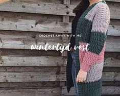 Wintertijd vest Crochet Mens Scarf, Crochet Clothes, Cross Stitching, Cross Stitch Patterns, Weaving, Knitting, Wordpress, Cardigan, Dan