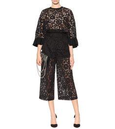 Valentino - Lace trousers   mytheresa.com