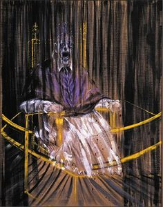 In Bacon painted 'Study after Velazquez's Portrait of Pope Innocent X'. This painting, commonly referred to as 'The Screaming Pope', was based on Velazquez's 'Portrait of Pope Innocent X' of 1650 and is considered to be Francis Bacon's masterpiece. Francisco Goya, Francis Bacon Pope, Pope Francis, Cy Twombly, Amedeo Modigliani, Arte Pop, Jackson Pollock, Michelangelo, Art Plastique