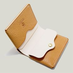 Bi_Fold Wallet [Marshmallow + Natural]