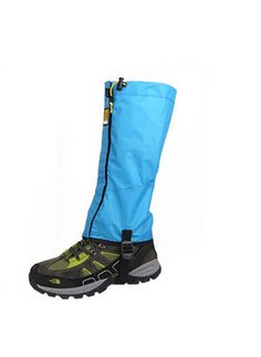 Ski Shoes Gaiters Snow Climbing Gaiter Boot Covers Sky Blue