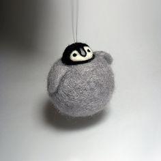 Penguin Ornament Emperor MADE TO ORDER by ChronoSalpGalaxy