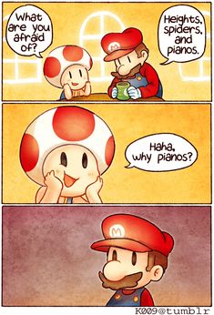 Mario - Haha Why by KataChan.deviantart.com on @DeviantArt