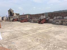 Castillo de San Felipe - Cartagena Sidewalk, Gran Colombia, Cartagena, Castles, Scenery, Side Walkway, Walkway, Walkways, Pavement