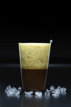 Guinness Espuma – a recipe from the first cookbook by MOLECULE-R Flavors. Order yours now at www.molecule-r.com.