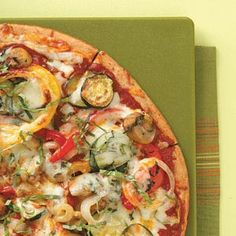 Grilled Veggie Pizza Recipe from Taste of Home -- shared by Susan Marshall of Colorado Springs, Colorado
