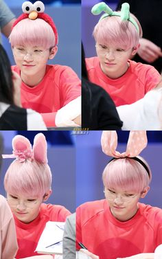 Woozi♥ Senevteen... >3< So Adorable <3 Love it