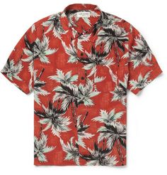 Saint Laurent Printed Silk Shirt | MR PORTER