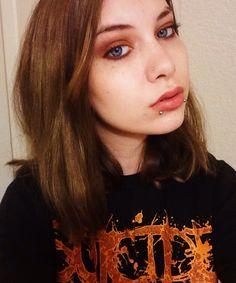 """My """"rusty eye"""" makeup look #makeup #rustyeyeshadow #tarte #grunge"""