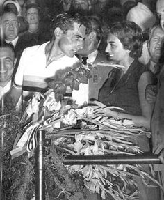 Fausto Coppi & Giulia Occhini (La Dama Bianca)..
