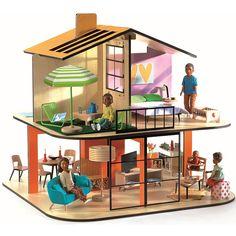 Кукольный дом Color House Djeco