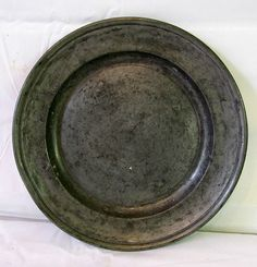 American Pewter Plate by Dan Forth – Connecticut