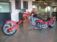 3D printed motorcycle Autodesk Inventor