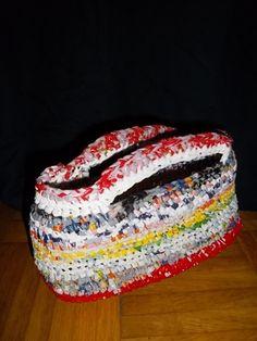 Es lebe der unerschöpfliche Plastiktütenvorrat - auch als kleines Körbchen