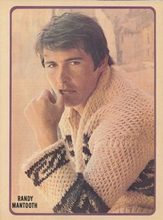 Randolph Mantooth, John Gage from Emergency! I think I had the magazine this page came from in 1972.