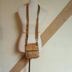 The Sak leather crossbody bag Rich tan leather with adjustable shoulder strap The Sak Bags Crossbody Bags