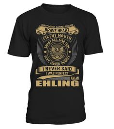 EHLING - I Nerver Said