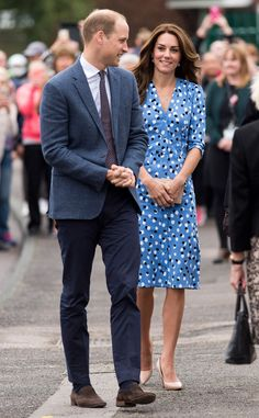 Prince William & Kate Middleton from The Big Picture: Today's Hot Pics  A royal arrival! The Duke and Duchess make an entrance at Steward's Academy in Harlow, England.