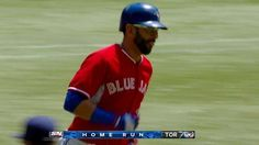 MIL@TOR: Bautista's solo shot! There's just something about seeing the Jays play on Canada Day that makes a perfect day no matter what the outcome! But home runs like this don't hurt!