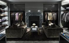 """Costing £8000 per sq ft it is no surprise Tom Ford – the ultimate perfectionist -oversaw the overall design of his new Sloane Street store. In his own words it offers """"super glamour"""" but when your company is making nearly $1 billion in retail sales he can afford it. See other expensive retail designs over on the blog:http://bit.ly/expensiveretail"""