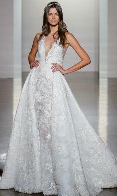 ¿Qué dos firmas 'made in Spain' se han atrevido con los vestidos de novia de invierno en Nueva York