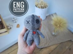 Diy Crochet Toys, Crochet Mouse, Cute Crochet, Crochet Dolls, Crochet Hats, Crochet Animal Patterns, Amigurumi Patterns, Amigurumi Toys, Zombie Dolls
