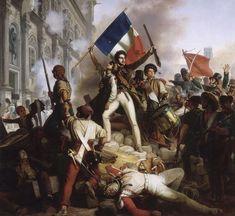 Révolution de 1830 - Combat devant l'hôtel de ville - 28.07.1830 - July Revolution - Wikipedia, the free encyclopedia