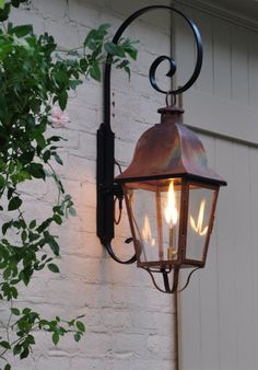 I miss my gas lantern from the old house... need to add these to the new!