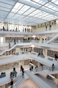 City Library in Stuttgart. Hope to see this sometime in the near future.