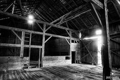 Inside the Barn   Black and White Photography by Jim Crotty