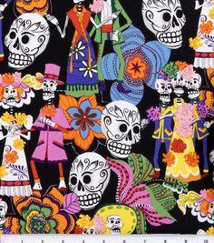 Shop Novelty Cotton Fabric-Los Novios & Novelty Fabric at Joann.com