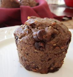This hearty gluten-free muffin recipe is loaded with healthy whole food ingredients, and is naturally vegan and allergy-friendly.. ☀CQ #glutenfree