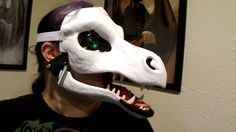 Articulated dragon mask
