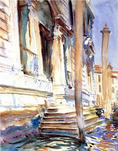 Doorway of a Venetian Palace - John Singer Sargent, c.1907