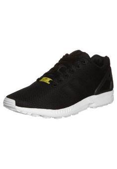 adidas Originals - ZX FLUX - Tenisówki i Trampki - black