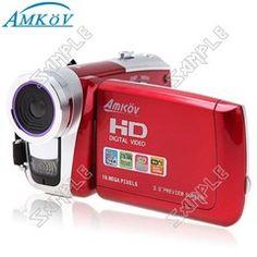 (AMKOV) HD-C5 3  16MP 16x Digital Zoom 720P HD Video Handy Camcorder EVC-268240