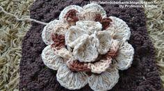 Flor Rainha em Crochê Parte -2 Crochet flower