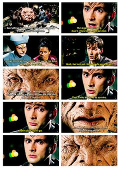 Is it just me or is the Face of Boe winking like Captain Jack used to wink. Doctor Who 10, 10th Doctor, Face Of Boe, Jack Harkness, Christopher Eccleston, Don't Blink, Captain Jack, Torchwood, Time Lords